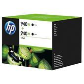 HP 940XL (D8J48AE) Black Original Ink Cartridge- Twin Pack