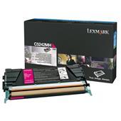 Lexmark C5242MH Original Magenta High Capacity Toner Cartridge