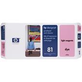 HP 81 Light Magenta Dye-Based Printhead and Printhead Cleaner Bundle
