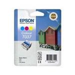 Epson T037 (T037040) Colour Original Ink Cartridge (Beach Hut)