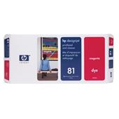 HP 81 Magenta Dye-Based Printhead and Printhead Cleaner Bundle