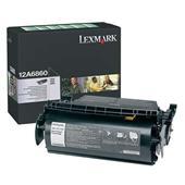 Lexmark 12A6860 Original Black Standard Capacity Toner Cartridge