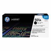 HP Colour LaserJet 501A Black Original Toner Cartridge with HP ColourSphere Toner (Q6470A)