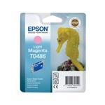 Epson T0486 (T048640) Light Magenta Original Ink Cartridge (Seahorse)