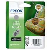 Epson T0347 (T034740) Light Black Original Ink Cartridge (Chameleon)