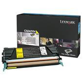 Lexmark C5242YH Original Yellow High Capacity Toner Cartridge
