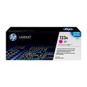 HP Colour LaserJet 123A Magenta Original Toner Cartridge with Smart Printing Technology (Q3973A)