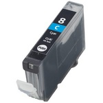 Compatible Cyan Canon CLI-8C Ink Cartridge (Replaces Canon 0621B001)