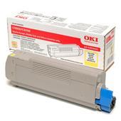 OKI 43324421 Original Yellow Toner Cartridge