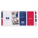 HP 80 Magenta Original Printhead and Printhead Cleaner Bundle