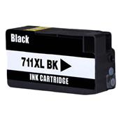 Compatible Black HP 711 High Capacity Ink Cartridge (Replaces HP CZ133A)