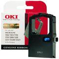 OKI 09002303 Original Black Fabric Ribbon Cartridge