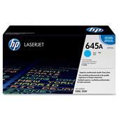 HP Colour LaserJet 645A Cyan Original Toner Cartridge with Smart Printing Technology (C9731A)