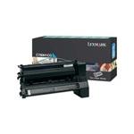 Lexmark C780H1CG Original Cyan High Yield Return Program Toner Cartridge