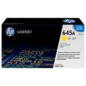 HP Colour LaserJet 645A Yellow Original Toner Cartridge with Smart Printing Technology (C9732A)