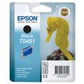 Epson T0481 (T048140) Black Original Ink Cartridge (Seahorse)