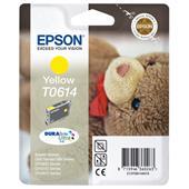 Epson T0614 (T061440) Yellow Original Ink Cartridge (Teddybear)
