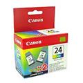Canon BCI-24C Colour Twin Pack Original Cartridge