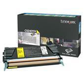 Lexmark C5240YH Original Yellow High Capacity Return Program Toner Cartridge