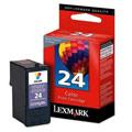 Lexmark No.24 Colour Original  Return Program Ink Cartridge