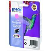 Epson T0806 (T080640) Light Magenta Original Ink Cartridge (Hummingbird)