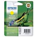 Epson T0334 (T033440) Yellow Original Ink Cartridge (Grasshopper)