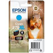 Epson 378XL Cyan Original Claria Photo HD High Capacity Ink Cartridge (Squirrel)