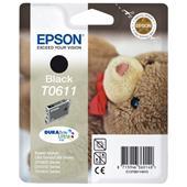 Epson T0611 (T061140) Black Original Ink Cartridge (Teddybear)