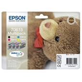 Epson T0615 (T061540) Original Ink Cartridge Multipack (Teddybear)