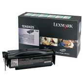 Lexmark 12A8425 Original Black High Capacity Return Program Toner Cartridge