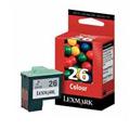Lexmark No. 26 Colour Original Ink Cartridge