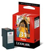Lexmark No.31 Photo Original Ink Cartridge