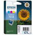 Epson T018 (T018401) Colour Original Ink Cartridge (Sunflower)