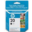 HP 20 Black Original Inkjet Print Cartridge